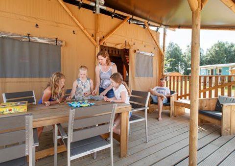 Safari Lodge tent flevostrand