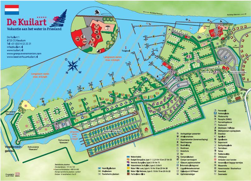 Vakantiepark De Kuilart 5 Sterrencamping Koudum Topcampingnl